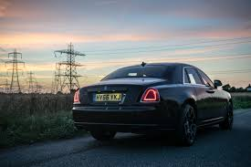 roll royce sky disappearing act in the rolls royce black badge ghost mr goodlife