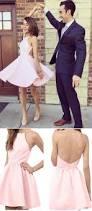 spaghetti straps a line homecoming dresses short prom dresses