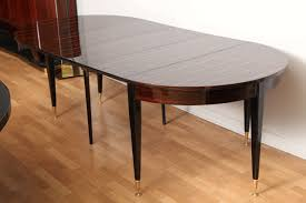 round expandable dining room table