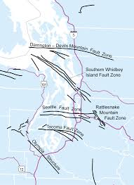 Seattle Wa Map by Puget Lowland Wa Dnr