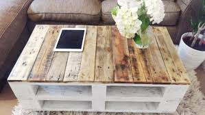 Coffee Table From Pallet Coffee Table Reclaimed Wood Lemmik In Farmhouse Style Unique