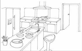 dessiner une cuisine en 3d dessin cuisine meilleures idées de décoration à la maison