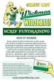 gift card fundraiser pto scrip fundraiser