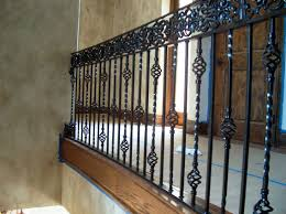 Interior Railings And Banisters Wrought Iron Stair Railing