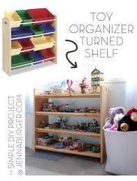 toy organizer turned bookshelf tips unique easy u0026 stylish for