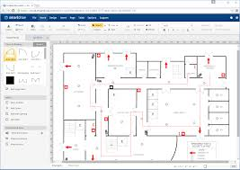 emergency exit floor plan template visio floor plan template network design project examples