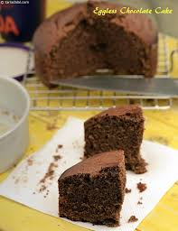 eggless chocolate cake pressure cooking recipe eggless