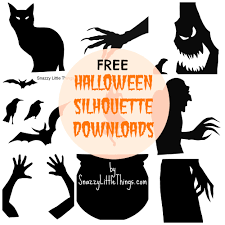 Halloween Craft Printable by Furniture Comely Diy Skeleton Silhouettes Salty Canary