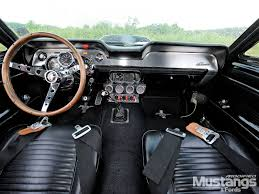 Black 1967 Mustang Fastback 1967 Ford Mustang Interior I Cannot Stand The Standard Front Seat