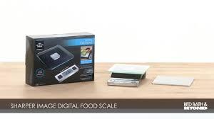 Bed Bath And Beyond Credit Card Sharper Image Precision Digital Food Scale Bed Bath U0026 Beyond