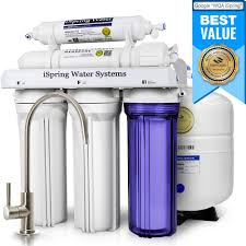 kitchen water filter faucet ispring osmosis system 5 stage sink water filter review