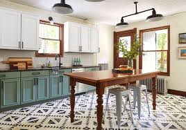 kitchen cabinets different colors top bottom apartment therapy on painting your kitchen