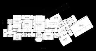 main floor plan of mascord plan 2440 the franciscan two story