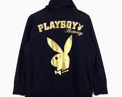 playboy hoodie etsy