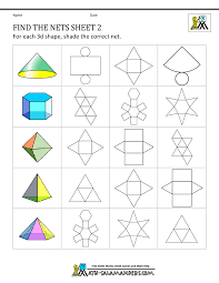 nets worksheet free worksheets library download and print