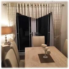 Images Of Curtain Pelmets 2 Curtains Dipped Inbetweener Pelmet Tie Backs Of Cream U0026 Gold