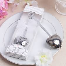 useful wedding favors 40pcs free shipping heart tea infuser favor stainless steel useful