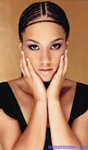 cornrows hairstyle with part in the middle hairstyle with circular cornrows last hair models hair styles