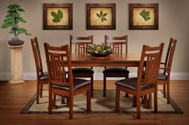 Mission Style Dining Room Tables - a guide to mission style furniture the amish home celebrating