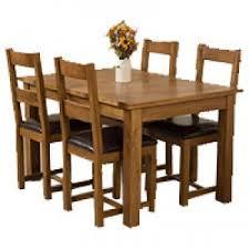 Solid Oak Dining Room Furniture Free UK Delivery - Oak dining room set