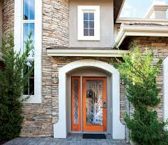 contemporary front doors contemporary front door with sidelites hanging curtain for front