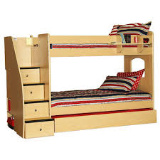 Bunk Beds With Stairs Berg Furniture Enterprise Twin Over Twin Bunk Bed With Stairs