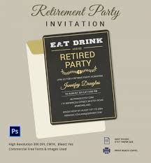 retirement party invites u2013 gangcraft net