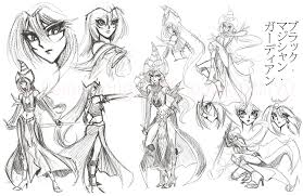 magical guardian concept sketches by shootingstar03 on deviantart