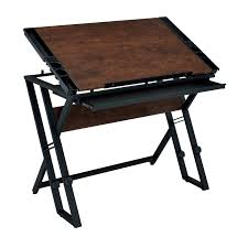 Wooden Drafting Table Drafting Table Reviews Studio Designs Aries Glass Drafting Table