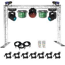 dj lighting truss package chauvet dj show maker 350 professional lighting dj packages dj