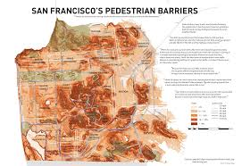 San Francisco Tram Map by San Francisco Topographic Street Map Michigan Map