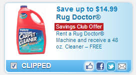 How Much For Rug Doctor Rental Rug Doctor 10 Off Rental U0026 Free Cleaner At Safeway With Coupon