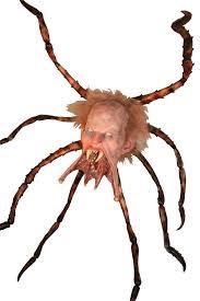 spider head hanging prop u0026 halloween costumes