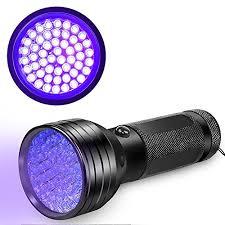 bed bug uv light uv flashlight black light beboncool 51 led 395 nm ultraviolet