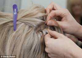 hair extensions for crown area i was going bald until a hair enhancer weaved its magic daily