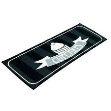 tapis cuisine noir tapis cuisine original afficher paillasson dintacrieur original