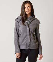 biker coat bench alcantara biker jacket women u0027s coats jackets in smoked