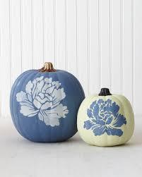 Martha Stewart Halloween Pumpkin Templates - chalk paint pumpkin martha stewart living a matte finish