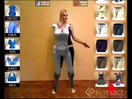 fitnect interactive virtual fitting dressing room application