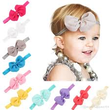 bow headbands infant bow headbands baby chiffon flower hair bands kids