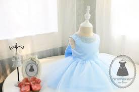 light blue baby birthday dress super cute baby tutu dress