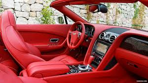 red bentley convertible 2012 bentley continental gtc silk white interior hd wallpaper 36