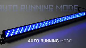 multi color led light bar rgb led light bar slim252 youtube