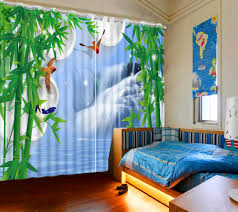 Waterfall Design Bedroom Set Online Get Cheap Beautiful Bedroom Curtains Aliexpress Com