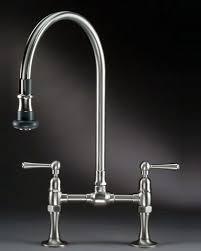 deck mount kitchen faucet jaclo s steam valve original deck mount bridge faucet with pull