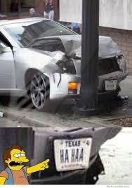 Car Wreck Meme - ha ha car crash weknowmemes
