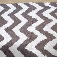 Bathroom Rug Runner Chevron Bath Mat Runner