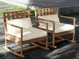 Rocking Chair Outdoor Furniture Modern Outdoor Rocking Chair