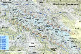 Himilayas Map Ari U0027s Base Camp Asia Karakoram