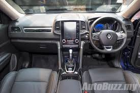 renault koleos 2017 black 2016 renault koleos 2 5l launched in malaysia priced at rm172k